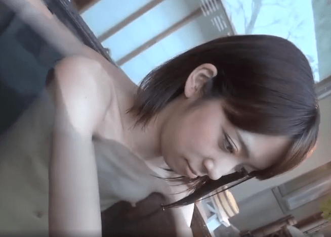 【人妻湯恋旅行】アソコが濡れ濡れ、ガリガリ貧乳の奥様が夫に頼まれ他人とセックス
