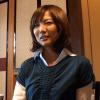 大川由紀恵 温泉でイマラチオ!喉奥まで肉棒をむしゃぶりつく美人若妻
