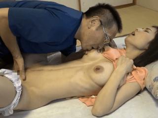 純粋無垢な綺麗な人妻!クビレボディの巨乳人妻が義兄のテクニックで性の快楽に目覚める
