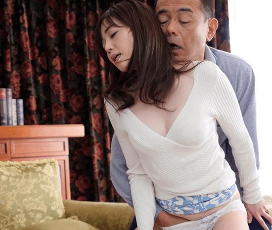 岡野美由紀 清純な奥様の綺麗な肉体が義父に弄ばれる!性欲旺盛な旦那の父親に逆らえず性奴隷となってしまう!