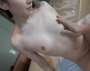 【AVデビュー】長谷川秋子 極上美人な人妻が緊張しながらも初めて晒すスレンダーで色白の裸体