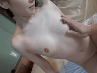 超美肌なスレンダー熟女がエロ過ぎ!全身性感帯と化した淫乱熟女が温泉宿で濃厚すぎるセックス!