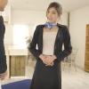 奥村かや ご奉仕大好き超高級スイートクラスの人妻が初撮り!小ぶりな胸を揺らしてどんな要求にも恥じらい対応!